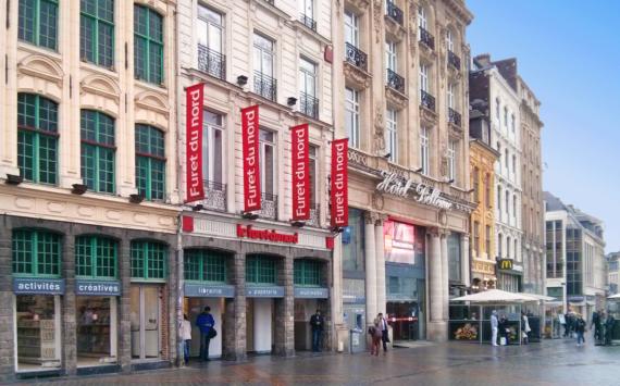 Furet du Nord, la librería más célebre de Lille