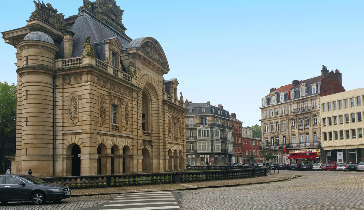 La Porte de Paris en Lille